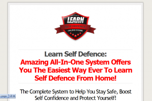 12 Week Online Self Defense Course