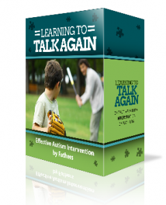 Child Autism Learning To Talk Again