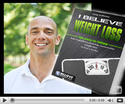 I Believe Weight Loss Review By Greg Zuffelato