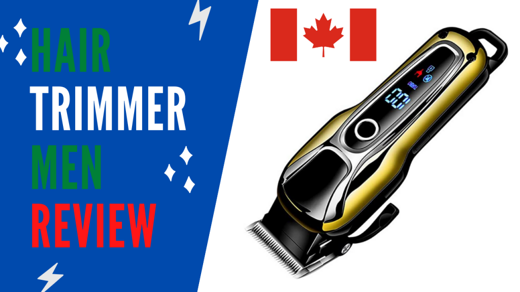 Best Body Hair Trimmers Canada and Male Grooming Tools of the Trade